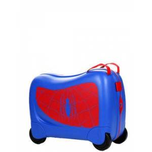 Samsonite Valise cavalier Samsonite Dream Rider Marvel Spider-Man bleu - Publicité