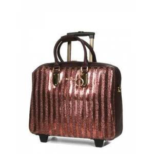 Olivia Lauren Pilot case souple Olivia Lauren Scarlett 15.6 pouces Bronze marron