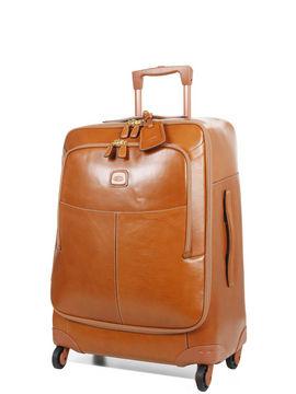 Bric's Valise cuir Bric's Life Pelle 68 cm orange