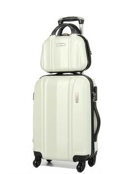 Madisson Set valise et vanity Madisson Jakarta 55 cm Crème blanc