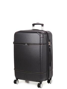 Snowball Valise rigide extensible pas cher Snowball Smart Case 68 cm Noir
