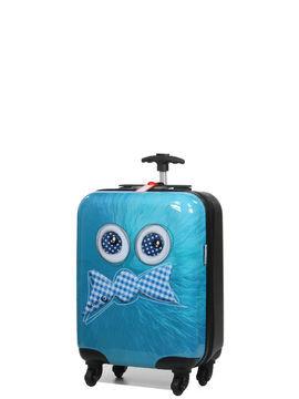 aérial valise cabine rigide aérial kids boy 50 cm bleu