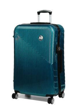 Snowball Grande valise rigide pas cher Snowball Brasilia 75 cm Bleu vert