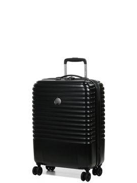 Delsey Valise cabine pas cher Delsey Caumartin Plus Slim 55 cm Noir