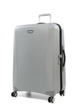 Samsonite Grande valise rigide Samsonite pas cher Klassik DLX 75 cm Silver/Black gris Solde