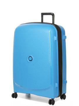 Delsey Valise rigide extensible Delsey Belmont Plus 76 cm Bleu métallique
