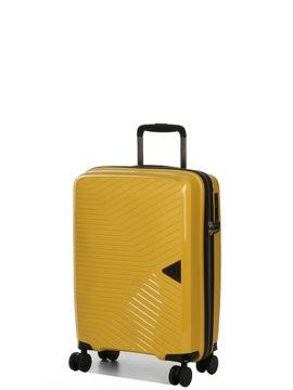 davidts valise cabine rigide davidt's nautilus 55 cm jaune