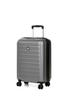 delsey valise cabine low cost delsey ségur 2.0 slim gris