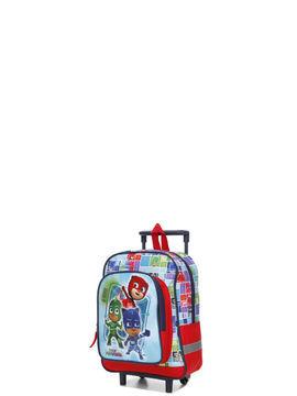 dessins animés valise cabine pyjamasques trio 35 cm bleu