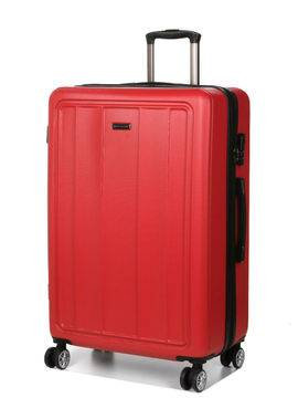 Madisson Grande valise rigide pas cher Madisson Manado 75 cm Rouge