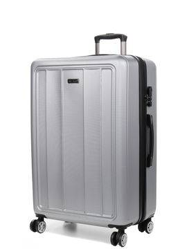 Madisson Grande valise rigide pas cher Madisson Manado 75 cm Silver gris