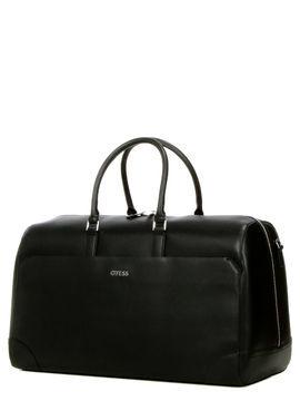 guess sac de voyage cabine guess manhattan 50 cm black noir
