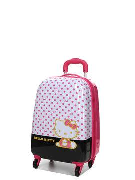 Heys Valise cabine rigide Heys Hello Kitty Dots 51 cm Rose