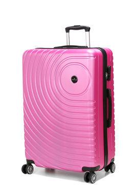 Madisson Grande valise rigide pas cher Madisson Padoue 72 cm Rose Solde