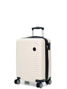 Madisson Valise cabine rigide pas cher Madisson Padoue 54 cm Blanc