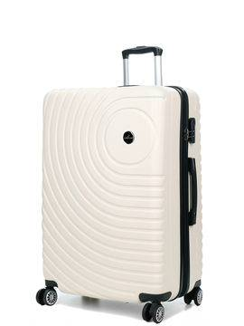 Madisson Grande valise rigide pas cher Madisson Padoue 72 cm Blanc
