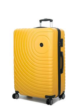 Madisson Grande valise rigide pas cher Madisson Padoue 72 cm Jaune