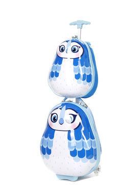 heys valise cabine pour enfants heys travels tots blue jay 46 cm et sac à dos bleu
