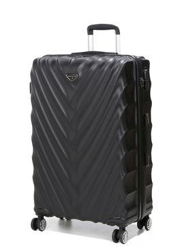 Madisson Grande valise rigide pas cher Madisson Parme 75 cm Noir