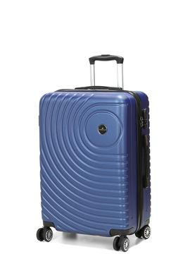 Madisson Valise rigide pas cher Madisson Padoue 63 cm Bleu