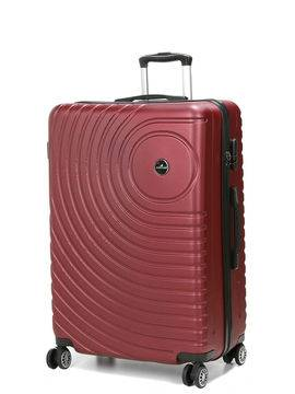 Madisson Grande valise rigide pas cher Madisson Padoue 72 cm Rouge Solde