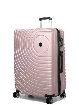 Madisson Grande valise rigide pas cher Madisson Padoue 72 cm Rose Gold