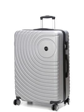 Madisson Grande valise rigide pas cher Madisson Padoue 72 cm Silver gris
