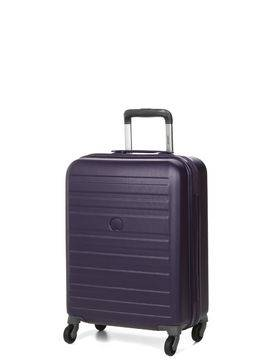 Delsey Valise cabine rigide pas cher Delsey Peric 55 cm Violet