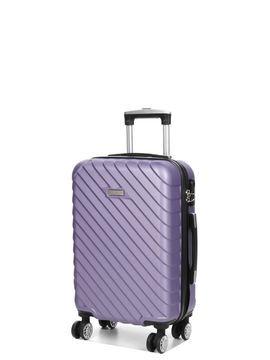 Madisson Valise cabine rigide Madisson Corfou 55 cm pas cher Violet
