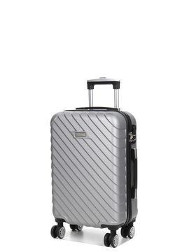 Madisson Valise cabine rigide Madisson Corfou 55 cm pas cher Silver gris