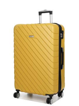 Madisson Grande valise pas cher Madisson Corfou 75 cm Jaune Solde