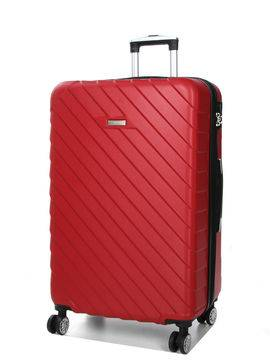 Madisson Grande valise pas cher Madisson Corfou 75 cm Rouge Solde