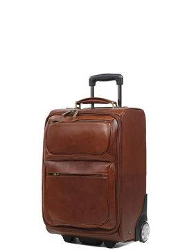 gérard hénon valise cabine cuir gérard hénon renaissance 55 cm marron