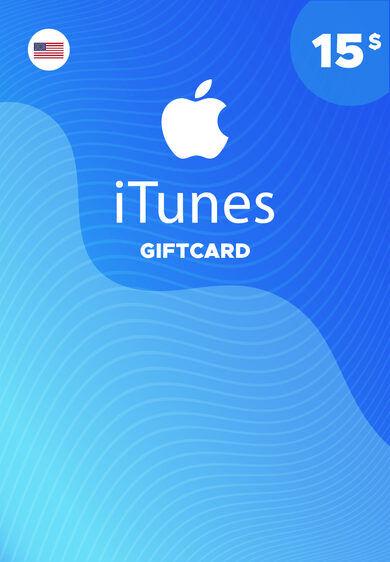 Apple Inc. Apple iTunes Gift Card 15 USD iTunes Key NORTH AMERICA