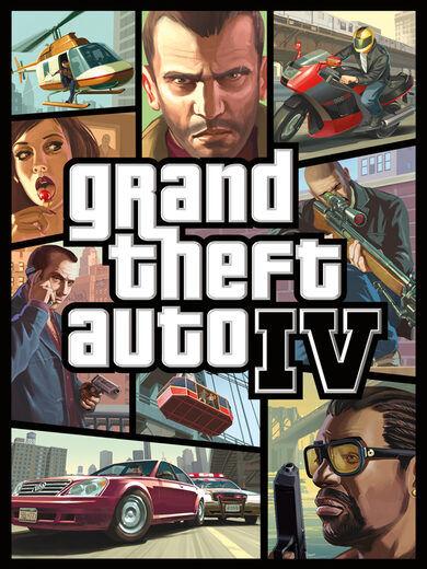 Rockstar Games Grand Theft Auto IV Steam Key GLOBAL