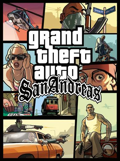 Take 2 Interactive Grand Theft Auto: San Andreas Steam Key GLOBAL