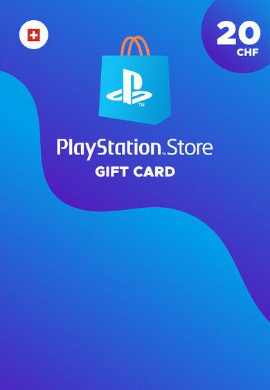 Sony Online Entertainment Playstation Network CarD 20 CHF (CH) PSN Key SWITZERLAND