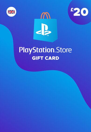 Sony Online Entertainment PlayStation Network Card 20 GBP (UK) PSN Key UNITED KINGDOM