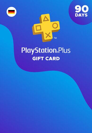 Sony Computer Entertainment PlayStation Plus Card 90 Days (DE) PSN Key GERMANY