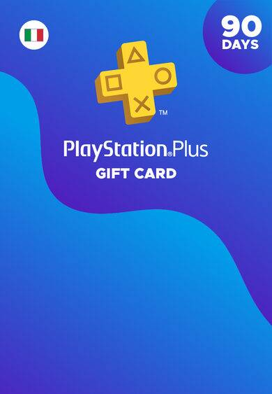 Sony Computer Entertainment PlayStation Plus Card 90 Days (IT) PSN Key ITALIA