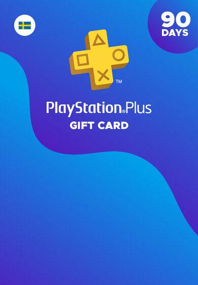 Sony Online Entertainment PlayStation Plus Card 90 Days (SE) PSN Key SWEDEN