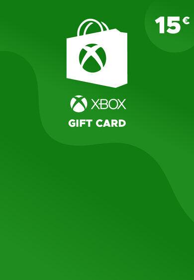 Microsoft Studios Xbox Live Gift Card 15 EUR Xbox Live Key EUROPE