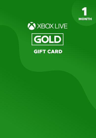Microsoft Studios Xbox Live Gold 1 month Xbox Live Key GLOBAL