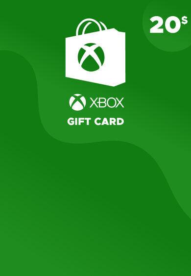 Microsoft Studios Xbox Live Gift Card 20 USD Xbox Live Key NORTH AMERICA