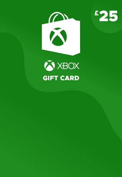 Microsoft Studios Xbox Live Gift Card 25 GBP Xbox Live Key EUROPE