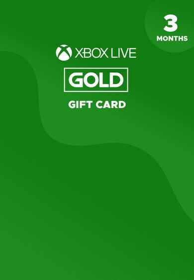 Microsoft Studios Xbox Live Gold 3 month Xbox Live Key GLOBAL