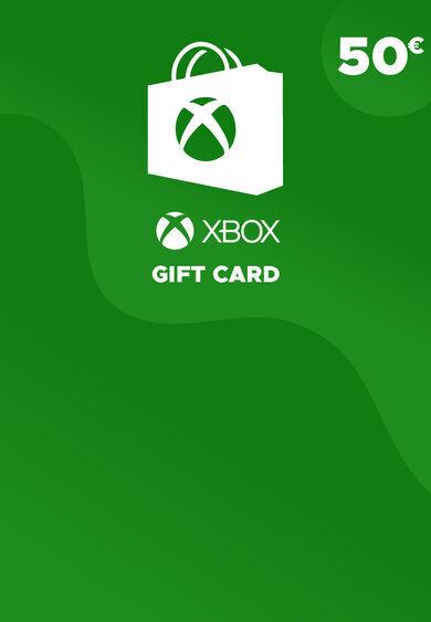 Microsoft Studios Xbox Live Gift Card 50 EUR Xbox Live Key EUROPE