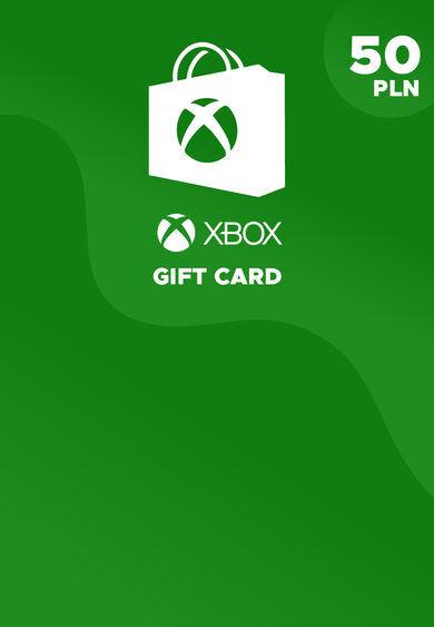 Microsoft Studios Xbox Live Gift Card 50 PLN Xbox Live Key POLAND