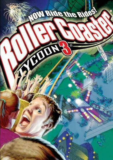Atari / Infogrames RollerCoaster Tycoon 3: Platinum Steam Key GLOBAL