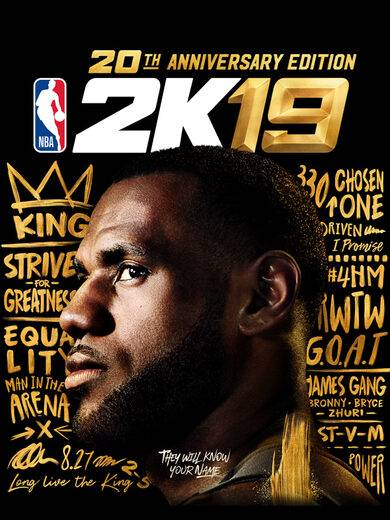 Take 2 Interactive NBA 2k19 (20th Anniversary Edition) Steam Key EUROPE